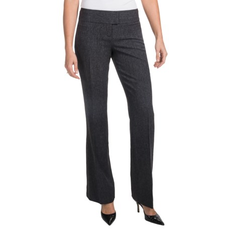 Two-Tone Bootcut Dress Pants (For Women)