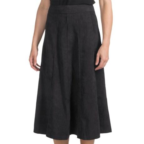 Full-Length Moleskin Skirt - Back Zip (For Women)