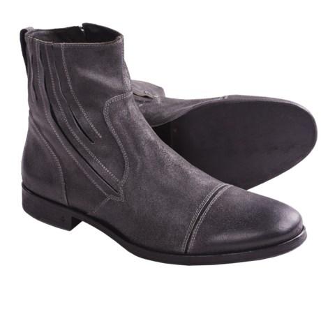 John Varvatos Ago Zip Boots (For Men)