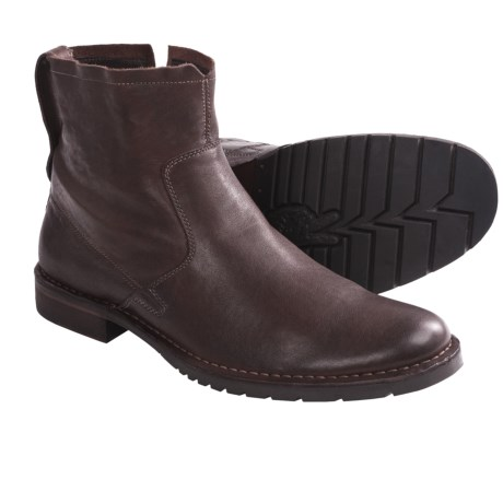 John Varvatos Driggs Convertible Boots - Leather (For Men)