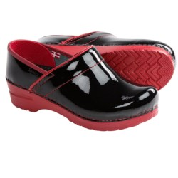 Sanita Professional Xenia Clogs - Patent Leather, Closed Back (For Women)