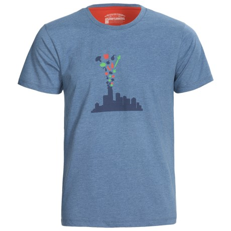 Pact Urban Organic Cotton T-Shirt - Crew Neck, Short Sleeve (For Men)