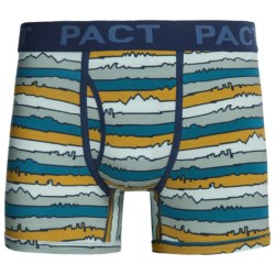 Pact Organic Cotton Boxer Briefs (For Men)