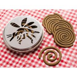 Esschert Design Citronella Coil Burner with 20 Coils