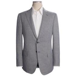 Isaia Houndstooth Sport Coat - Silk-Wool-Linen (For Men)
