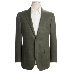 Isaia Tic Weave Sport Coat - Wool-Silk-Mohair (For Men)