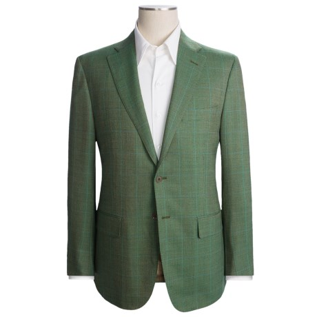 Isaia Birdseye Sport Coat - Wool (For Men)