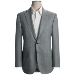 Isaia Houndstooth Plaid Sport Coat - Wool (For Men)