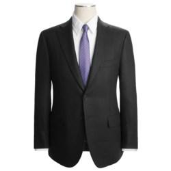 Isaia Comb Weave Suit - Linen (For Men)