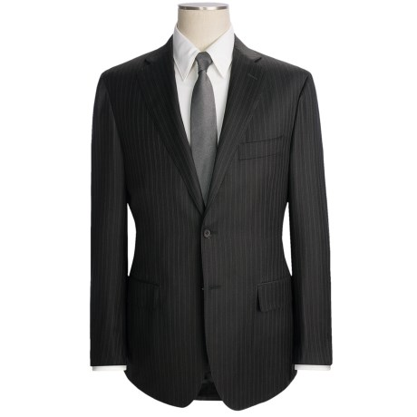 Isaia Variegated Stripe Suit - Wool (For Men)