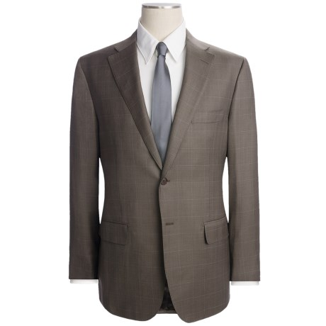 Isaia Multi-Check Suit - Wool (For Men)