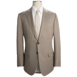 Isaia Fancy Solid Suit - Aquaspider Wool (For Men)