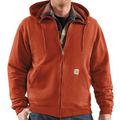 Carhartt Brushed Fleece Hooded Jacket (For Men)