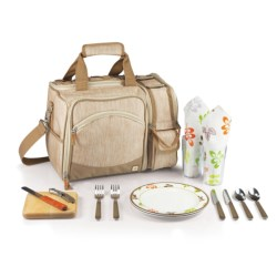Picnic Time Malibu Go-Anywhere Picnic Pack - 12-Piece