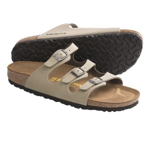 Birkenstock Florida Sandals - Brushed Birko-flor® (For Women)