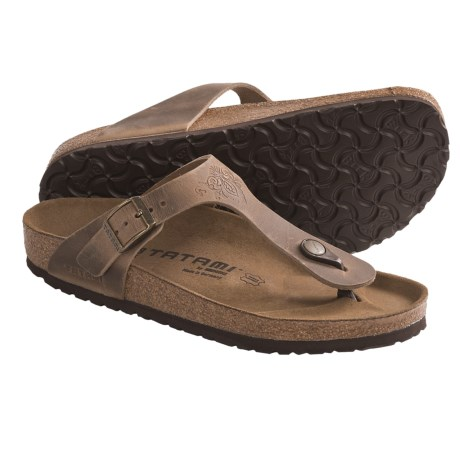 Tatami by Birkenstock Gizeh Impression Sandals - Leather (For Women)