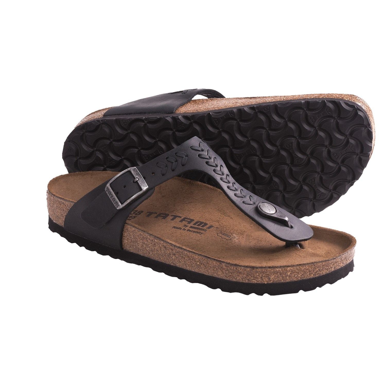 Tatami By Birkenstock Gizeh Woven Sandals For Women