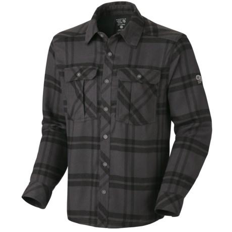 Mountain Hardwear Trekkin Flannel Shirt - Long Sleeve (For Men)