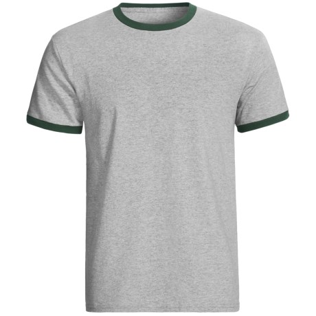 Champion Ringer T-Shirt - Short Sleeve (For Men and Women)