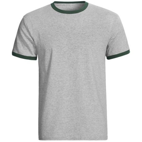 Champion Ringer T-Shirt - Short Sleeve (For Men and Women)