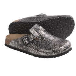 Papillio by Birkenstock Boston Floral Clogs - Leather (For Women)