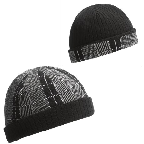 Jacob Ash Attaboy Knit Beanie Hat - Reversible (For Men)