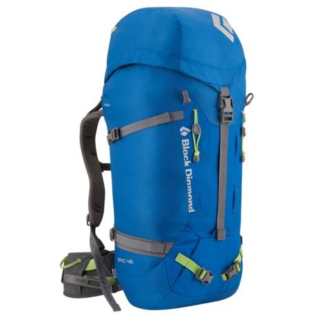 Black Diamond Equipment Epic 45 Climbing Backpack - Internal Frame
