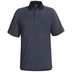 Fairway & Greene Fineline Stripe Tech Jersey Polo Shirt - Short Sleeve (For Men)