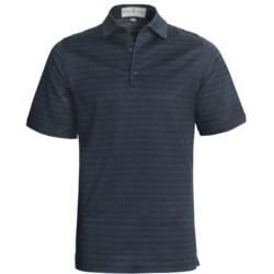 Fairway & Greene Corporate Jacquard Pattern Polo Shirt - Short Sleeve (For Men)