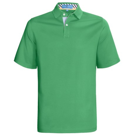 Fairway & Greene Pureformance Grenville Lisle Polo Shirt - Short Sleeve (For Men)