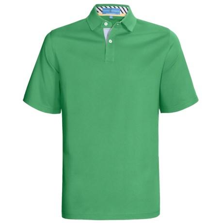 Fairway & Greene Pureformance Grenville Lisle Polo Shirt - Short Sleeve (For Men)
