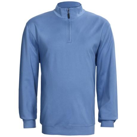 Fairway & Greene Fairway Pureformance Pullover - Zip Neck, Long Sleeve (For Men)