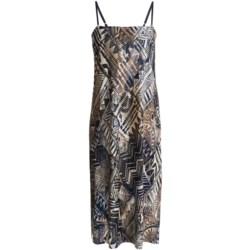 Diamond Tea Nightgown with Shelf Bra - Spaghetti Strap (For Women)