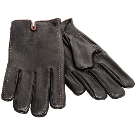 Cire by Grandoe Tacoma Deerskin Gloves - Cashmere Lined (For Men)
