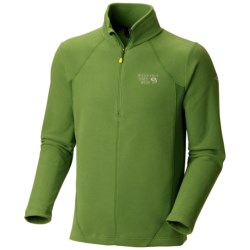 Mountain Hardwear MicroChill Tech Pullover - Zip Neck, Long Sleeve (For Men)