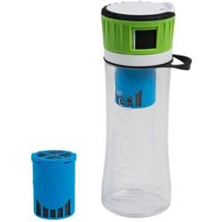 Hydros Filtering Water Bottle - BPA-Free, 16 fl.oz.