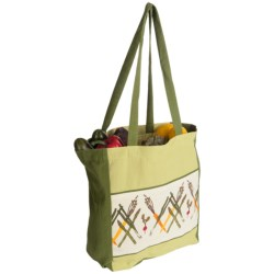 "Tag ""Go To Market"" Shopper Tote Bag"