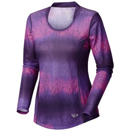 Mountain Hardwear Wicked Electric Shirt - Long Sleeve (For Women)