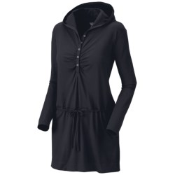 Mountain Hardwear Hooded Butter Dress - UPF 50, Long Sleeve (For Women)