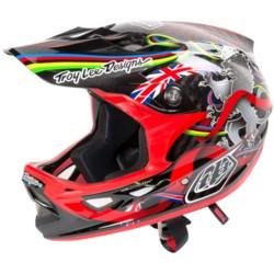"Troy Lee Designs D3 Peat ""World Champ"" Mountain Bike Helmet - Full Face, Carbon"