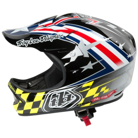 Troy Lee Designs D2 Air Strike Mountain Bike Helmet - Full Face