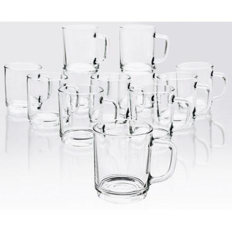 Bormioli Rocco Boston Stackable Mugs - Set of 12