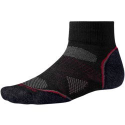 SmartWool 2013 PhD Cycle Light Socks - Merino Wool, Quarter-Crew (For Men and Women)
