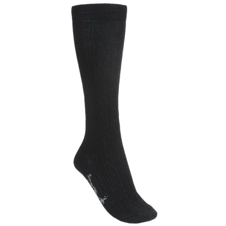 SmartWool Cable Knee-High Socks - Merino Wool, Over-the-Calf (For Women)