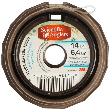 Scientific Anglers Fluorocarbon Salmon/Steelhead Tippet - 25 yd.