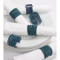 April Cornell Bangle Napkin Rings - Set of 6