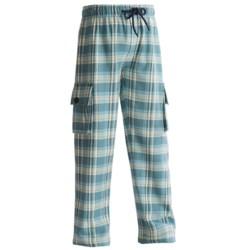 Hatley Cargo Pants - Cotton Flannel (For Kids)