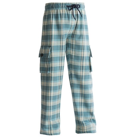 Hatley Cargo Pants - Cotton Flannel (For Kids)