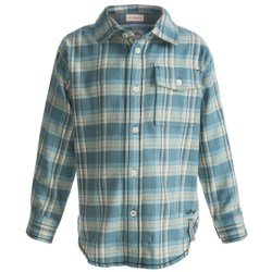 Hatley Flannel Plaid Shirt - Long Sleeve (For Kids)