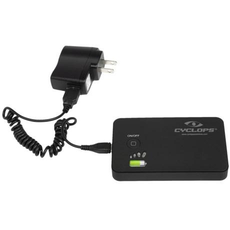 Cyclops Ener-Pak Portable Power Pack - Dual USB Charger